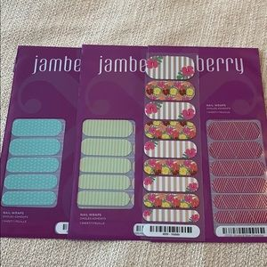Jamberry Stripes and Dots Nail Wraps